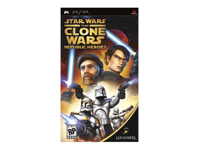 Star Wars: Clone Wars Republic Heroes PSP Game LUCASARTS