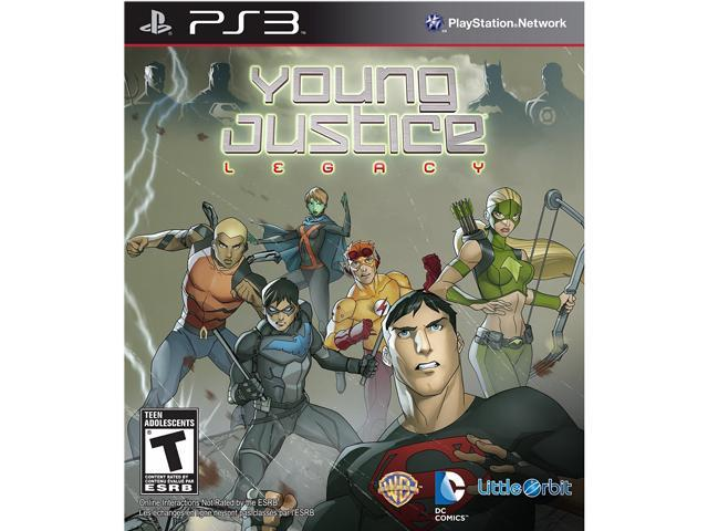 Young Justice: Legacy Playstation3 Game
