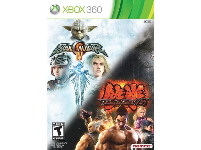 Tekken 6 / Soul Calibur 4 Bundle XBox 360 Game