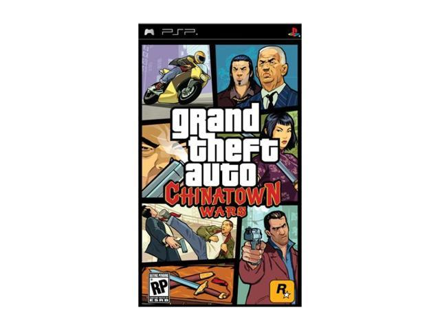 Grand Theft Auto: Chinatown Wars PSP Game Rockstar
