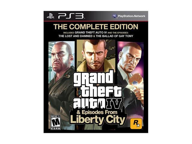 Grand Theft Auto IV Complete Playstation3 Game
