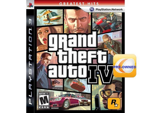 PRE-OWNED Grand Theft Auto IV PS3