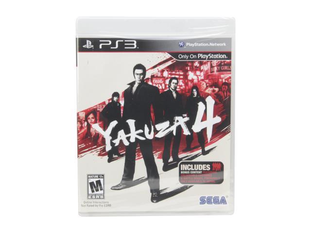 Yakuza 4 Playstation3 Game