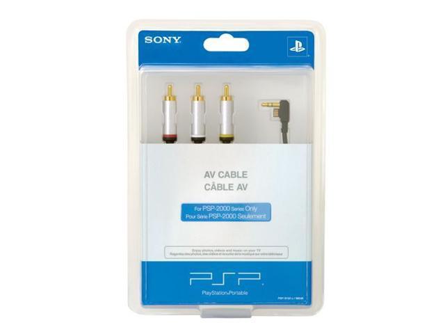 SONY 2000 PSP Composite AV Cable