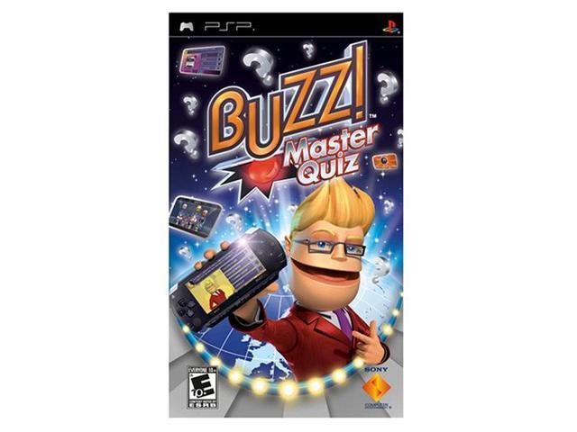 Buzz! Master Quiz PSP Game SONY