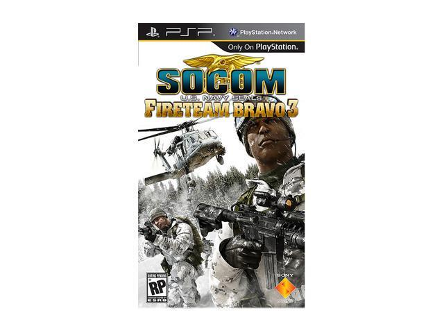 SOCOM: U.S. Navy Seals Fireteam Bravo 3 PSP Game SONY