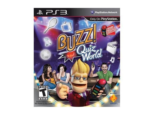 Buzz! Quiz World (Game Only)