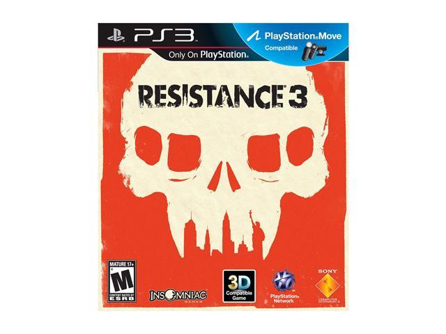 Resistance 3 Playstation3 Game