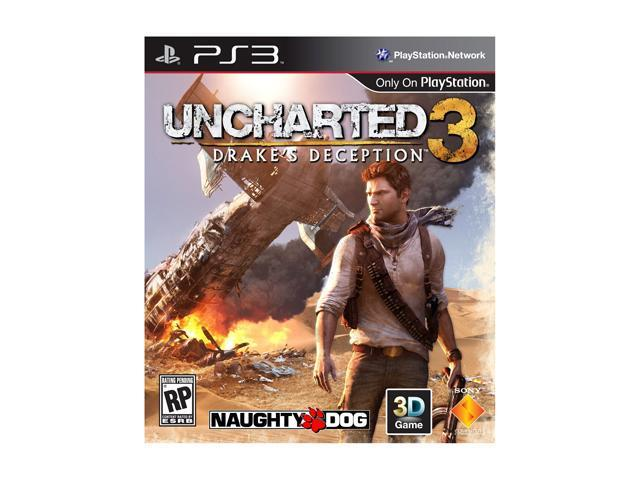 Uncharted 3: Drake's Deception Playstation3 Game