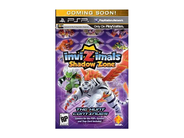 Invizimals: Shadow Zone PSP Game SONY