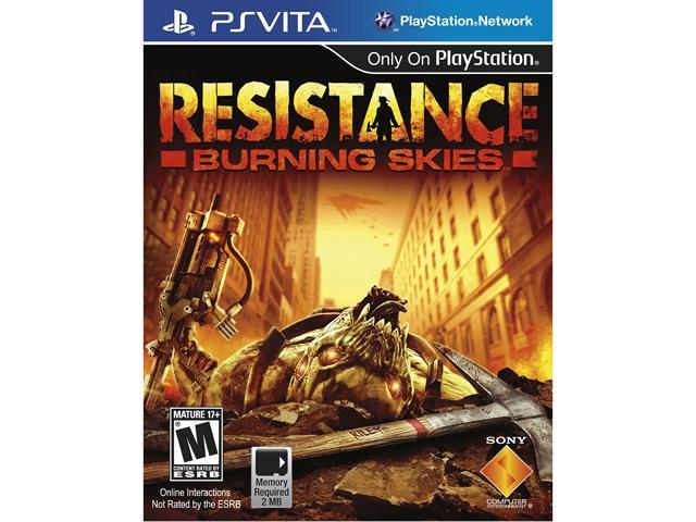 Resistance: Burning Skies PlayStation Vita