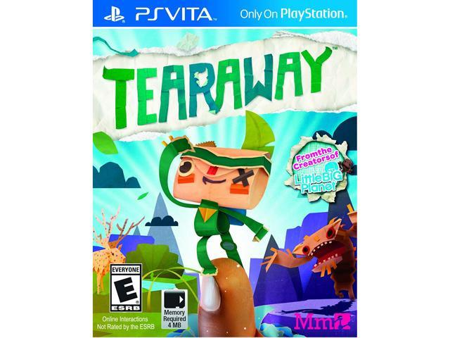 Tearaway PlayStation Vita
