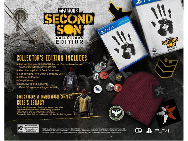 inFAMOUS: Second Son Collector's Edition PlayStation 4 - Retail
