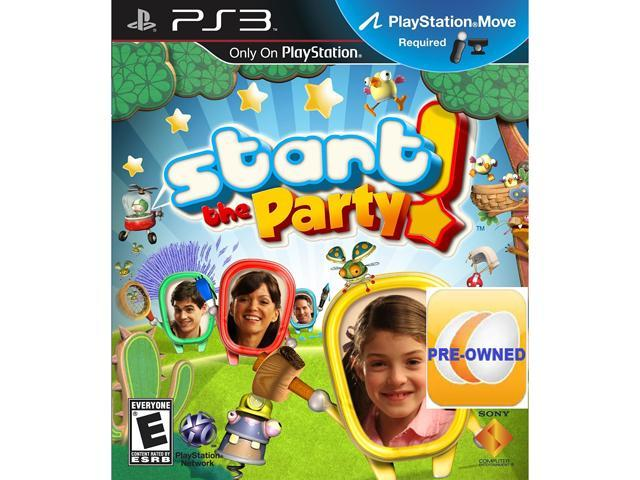 Pre-owned Start the Party  PS3