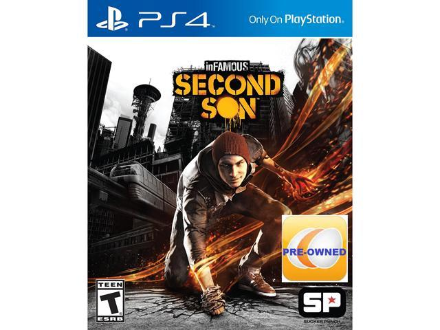 PRE-OWNED inFAMOUS Second Son PS4