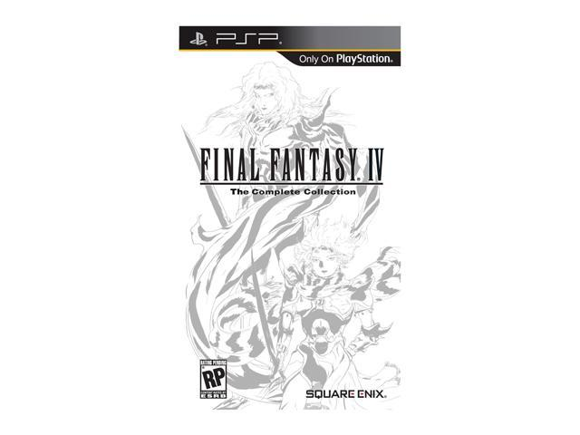 Final Fantasy IV The Complete Collection PSP Game SQUARE ENIX