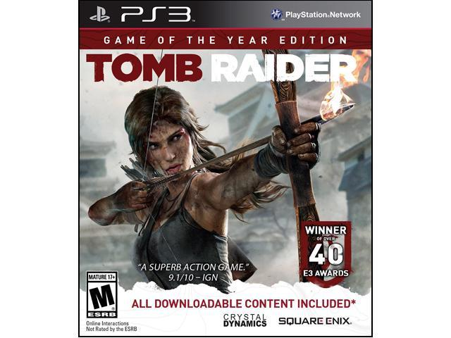 Tomb Raider Game of the Year PlayStation 3