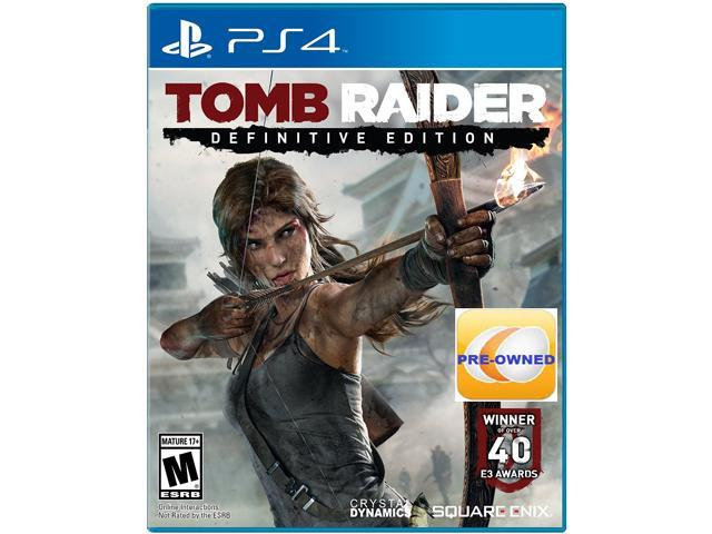 PRE-OWNED Tomb Raider Definitive Edition PS4