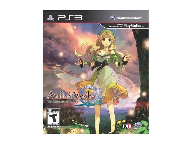 Atelier Ayesha: The Alchemist Dusk Playstation3 Game