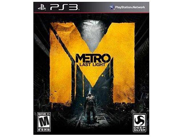 Metro: Last Light Playstation3 Game