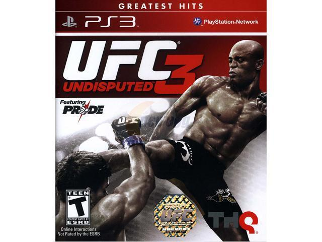 UFC Undisputed 3 Playstation3 Game
