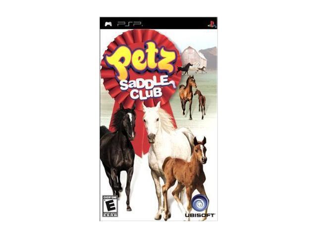 Petz Saddle Club PSP Game Ubisoft