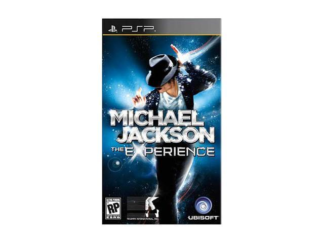 Michael Jackson Experience PSP Game Ubisoft