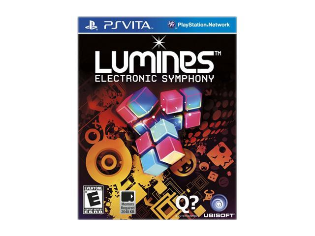 Lumines Electronic Symphony PS Vita Games