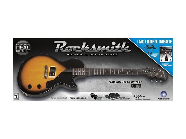 Rocksmith Guitar & Bass Guitar Bundle Playstation3 Game