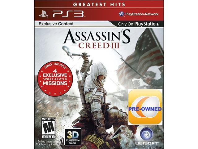 Pre-owned Assassin's Creed III PS3