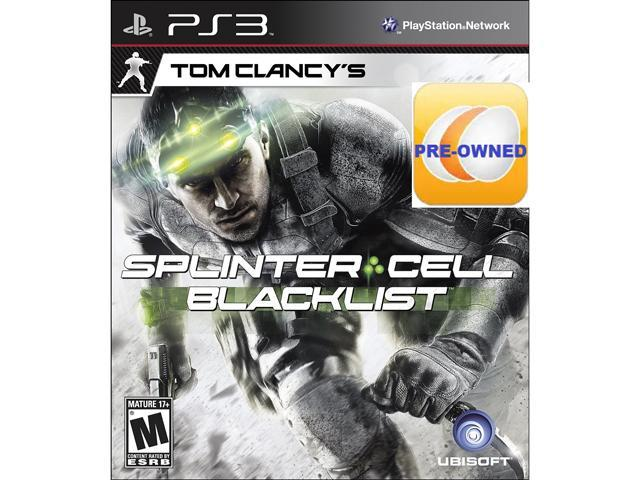 Pre-owned Tom Clancy's Splinter Cell Blacklist PS3