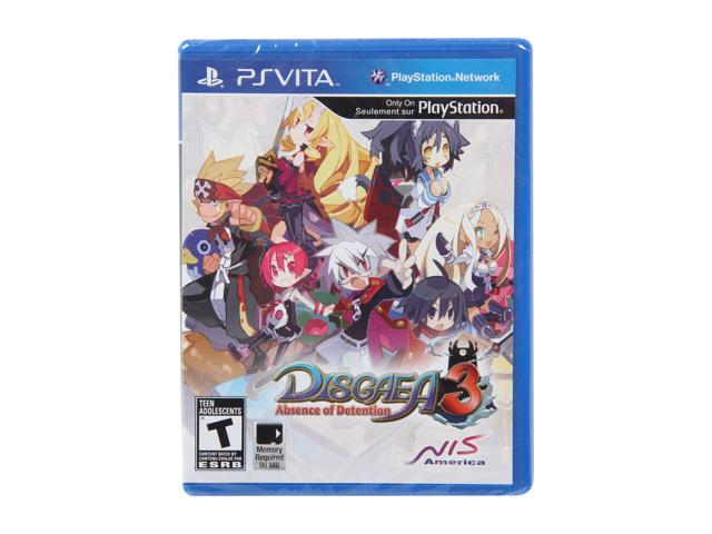 Disgaea 3: Absence of Detention PS Vita Games