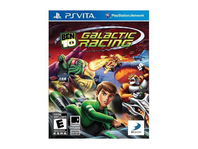 Ben 10: Galactic Racing PS Vita Games