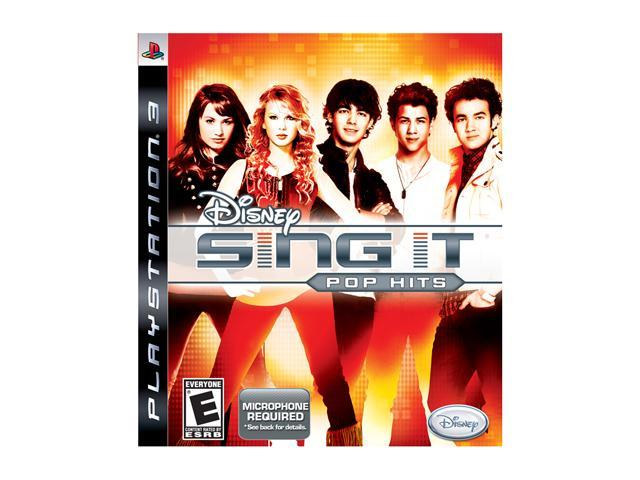 Sing It: Pop Hits (Software Only) Playstation3 Game