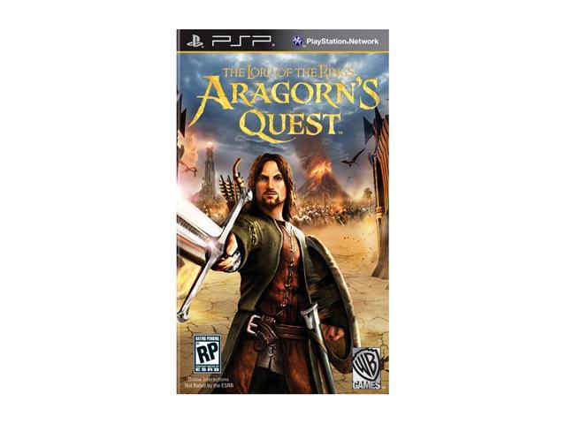 Lord of the Rings: Aragorn's Quest PSP Game Warner Bros. Studios