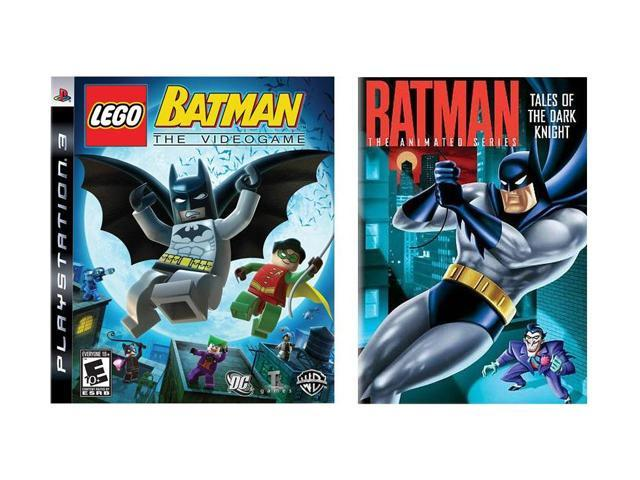 Lego Batman PS3 w/Batman Animated Series: Tales of the Dark Knight DVD Warner Bros. Studios