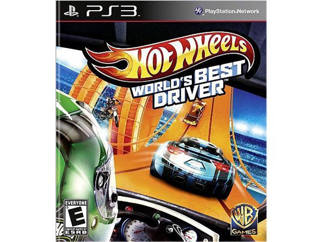 Hot Wheels: World's Best Driver PS3 Game