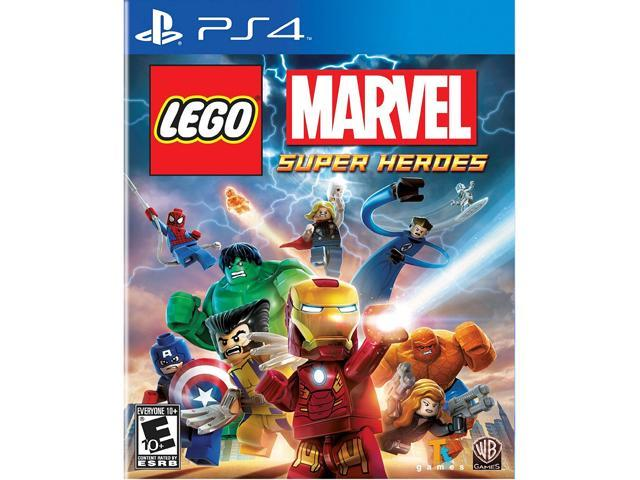 LEGO: Marvel Super Heroes PS4 Game