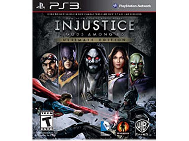Injustice: Gods Among Us Ultimate Edition PlayStation 3