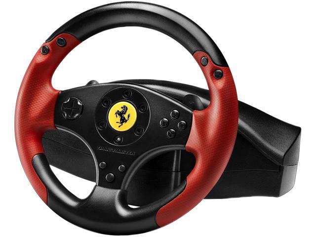 THRUSTMASTER VG Ferrari Racing Wheel - Red Legend Edition - PlayStation 3