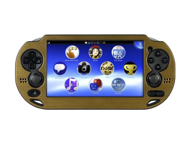 CTA Digital Metallic Gold Case for PS Vita