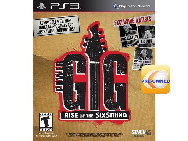 Pre-owned Power Gig Rise of the SixStrings  PS3