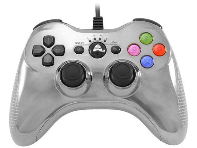 Arsenal PS3 Wired Controller Chrome Silver