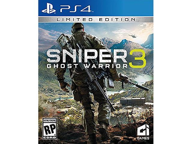 Sniper Ghost Warrior 3 Day 1 PS4 Video Games