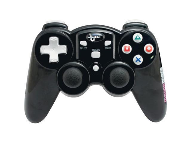 dreamGEAR Magna Force 2.4 GHZ RF Wireless Controller Black for PS2