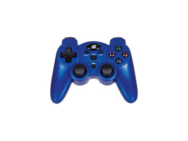 dreamGEAR Radium Wireless Controller for PS3 Metallic Blue