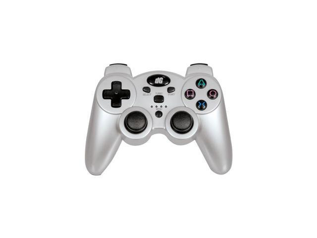 dreamGEAR Radium Wireless Controller for PS3 Metallic Silver