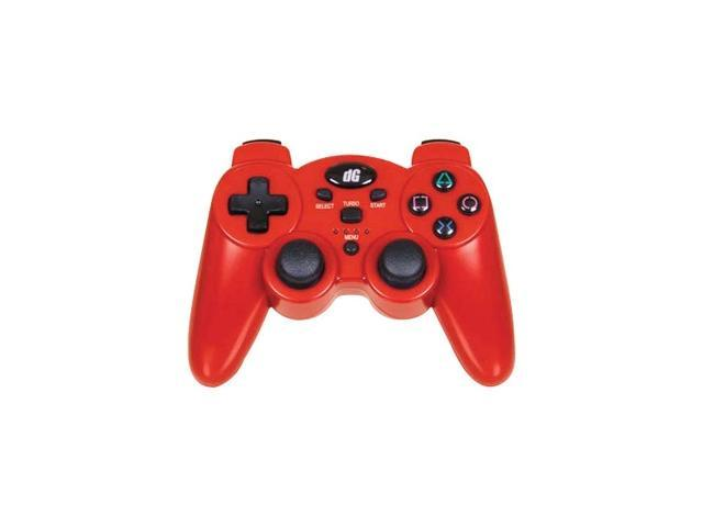 dreamGEAR Radium Wireless Controller for PS3 Metallic Red