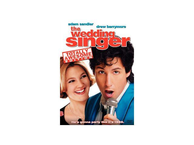 The Wedding Singer Adam Sandler, Drew Barrymore, Christine ...
