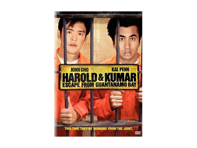 Harold & Kumar Escape from Guantanamo Bay (2008 / DVD) John Cho, Kal Penn, Neil Patrick Harris, David Krumholtz, Jack Conley